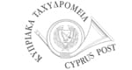 Cyprus post logo- grey
