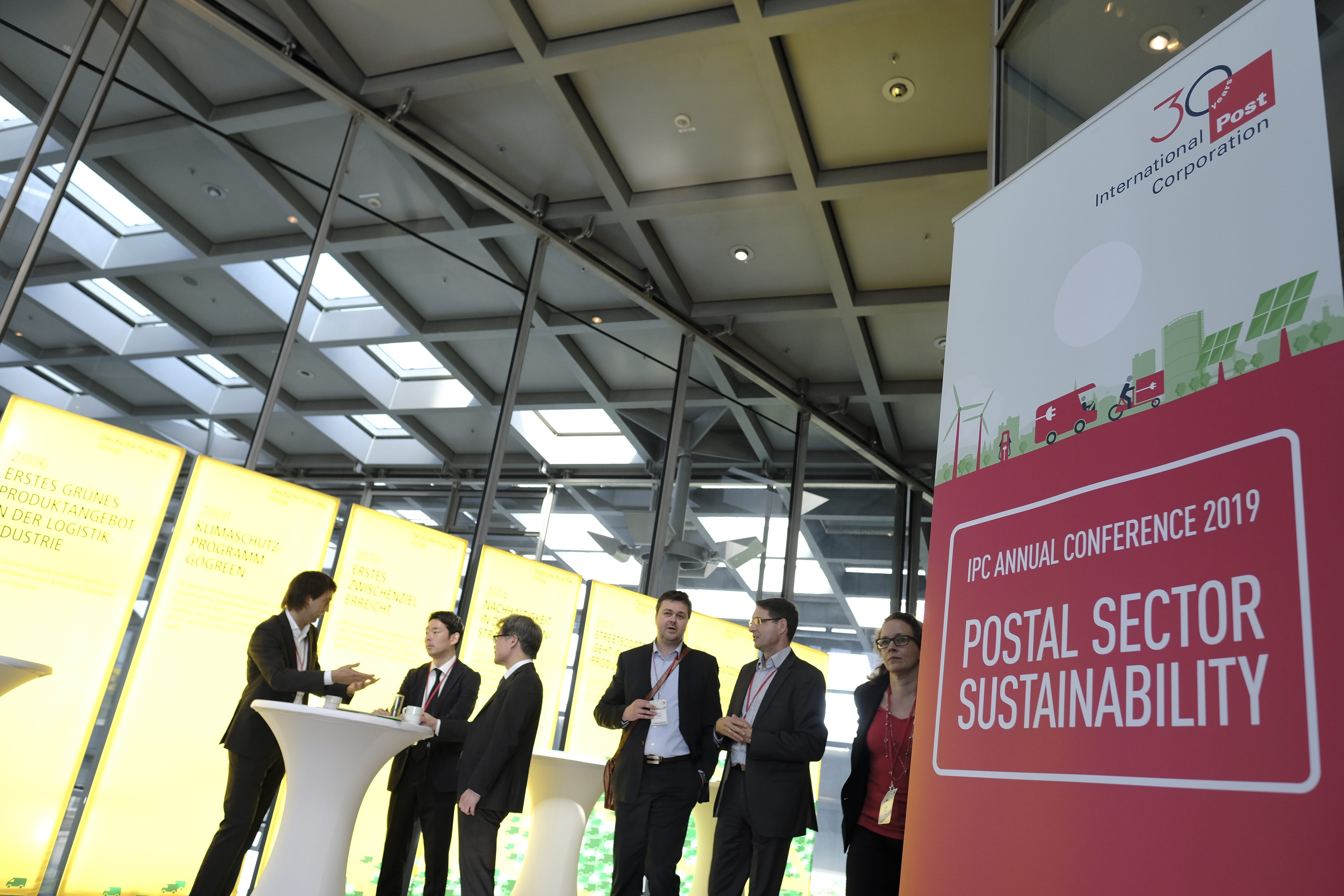 IPC Annual Conference 2019 - Postal Sector Sustainability