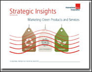 Strategic Insights: Marketing Green Products and Services