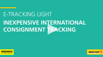 e tracking light swiss post s service for international tracked packets international post. Black Bedroom Furniture Sets. Home Design Ideas