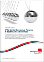 IPC's Senior Executive Forums & Best Practice Seminars