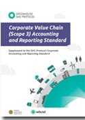 Scope 3 reporting and accounting 2012